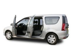 Dacia Logan zijde. 2