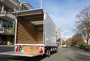 Verhuiswagen huren bij Van 't Hart