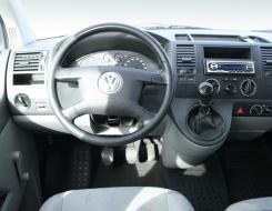 Volkswagen Pick-Up Dubbele Cabine binnenkant