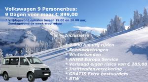 Van 't Hart Autoverhuur Rotterdam Wintersport Aanbieding