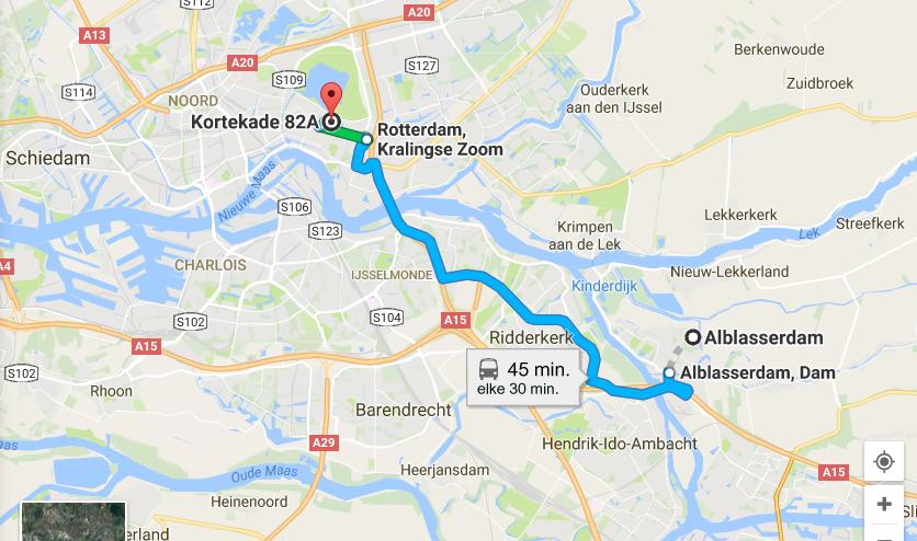 routebeschrijving-ov-alblasserdam-rotterdam